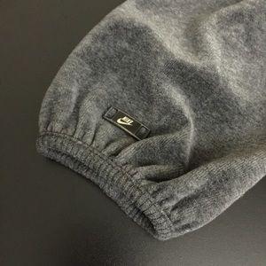 Nike Tops - NIKE Velour Cowlneck Hoodie Pullover